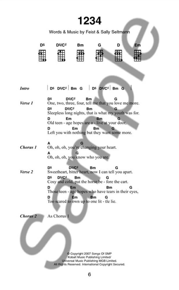 Sheet Music Gifts Printed Music Folk Ulele The Little