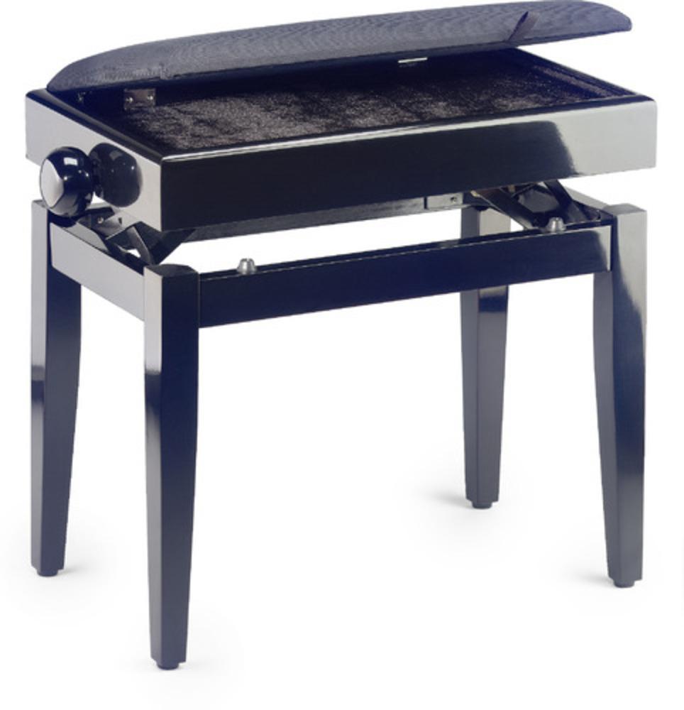 Description. - Piano bench with limited music storage  sc 1 st  Mannu0027s Music & Pianos u0026 Keyboards u003e Pianos u003e Piano Stools u003e Stagg PB55 Adjustable ... islam-shia.org