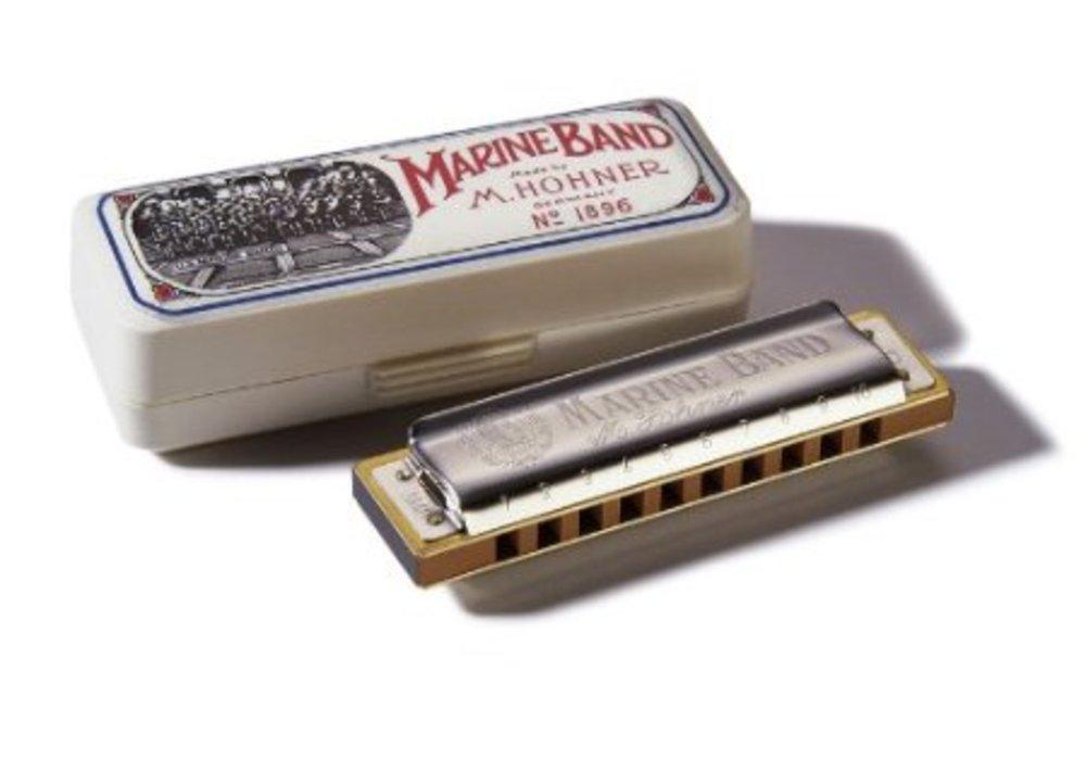 folk instruments harmonicas hohner marine band harmonica various key. Black Bedroom Furniture Sets. Home Design Ideas