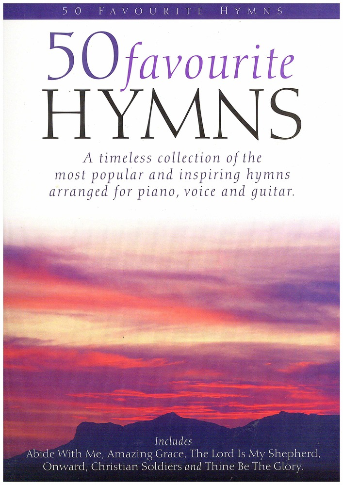 Sheet Music Gifts Printed Music Vocal And Choral Hymns And