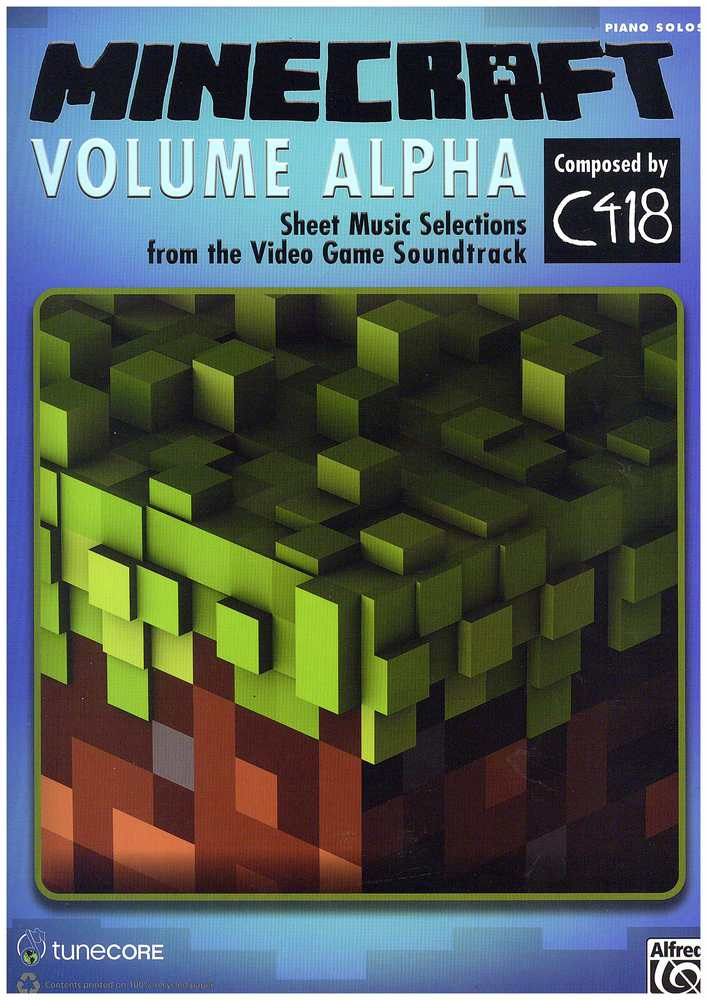 Description Summary Minecraft Volume Alpha For Piano Solo: Minecraft C418 Sheet Music Free At Alzheimers-prions.com