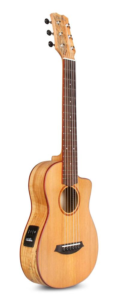 guitars cordoba mini sm ce travel electro classical nylon guitar case. Black Bedroom Furniture Sets. Home Design Ideas