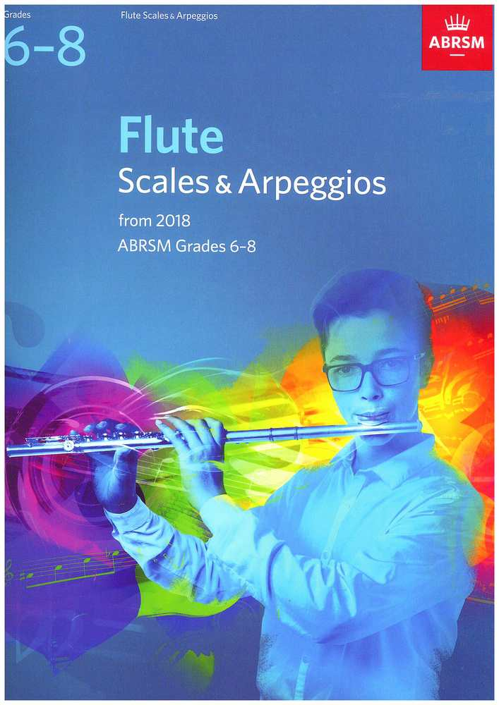 Flute Scales & Arpeggios, ABRSM Grades 6-8 from 2018