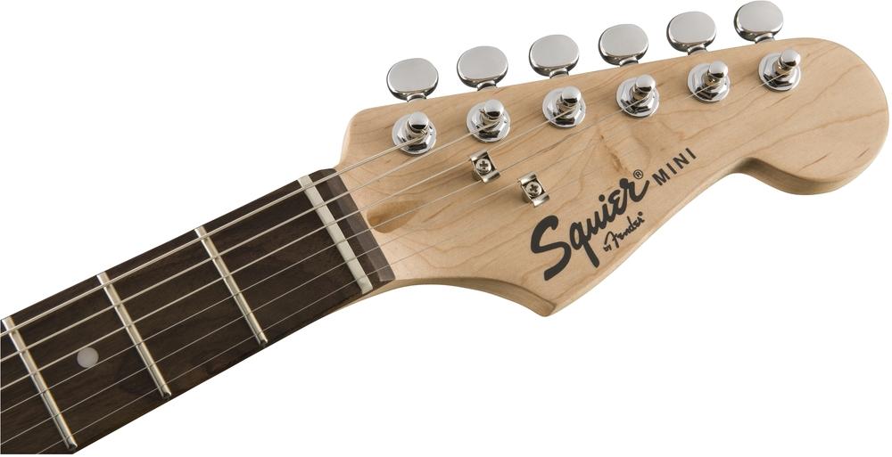 guitars fender squier mini strat v2 black indian laurel. Black Bedroom Furniture Sets. Home Design Ideas