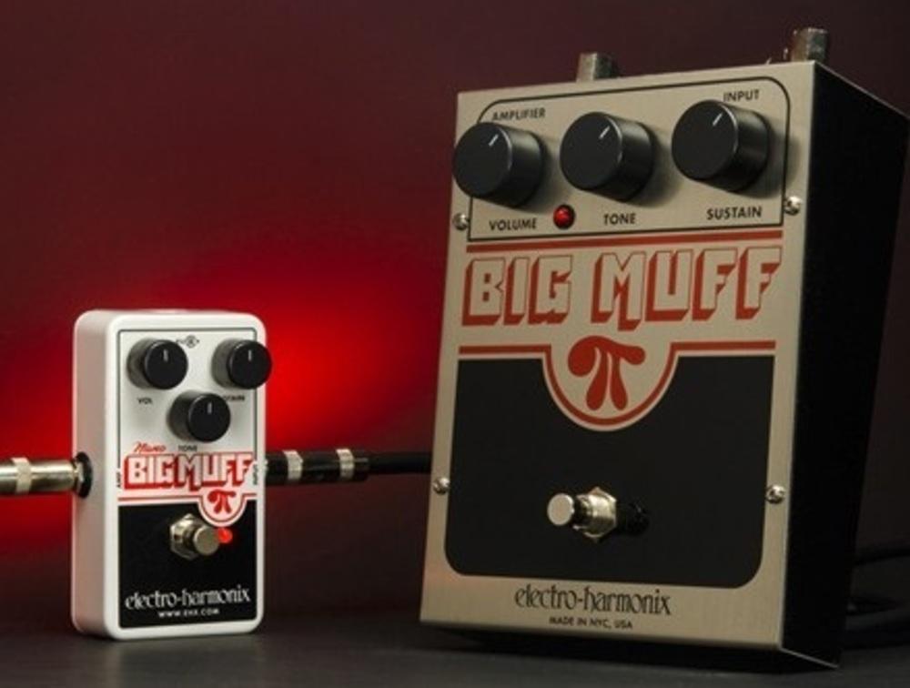 guitars effects pedals electro harmonix electro harmonix nano big muff pi. Black Bedroom Furniture Sets. Home Design Ideas