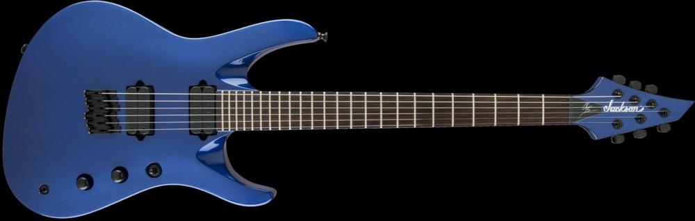 Jackson Pro Series Signature Chris Broderick Soloist HT6 Metallic Blue,  Rosewood