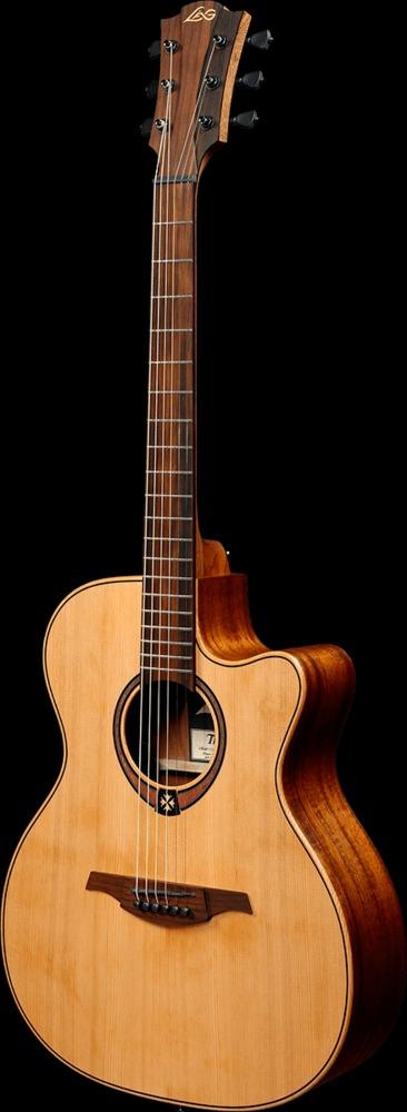 guitars acoustic guitars lag acoustic guitars lag tramontane 170 t170ace auditorium. Black Bedroom Furniture Sets. Home Design Ideas