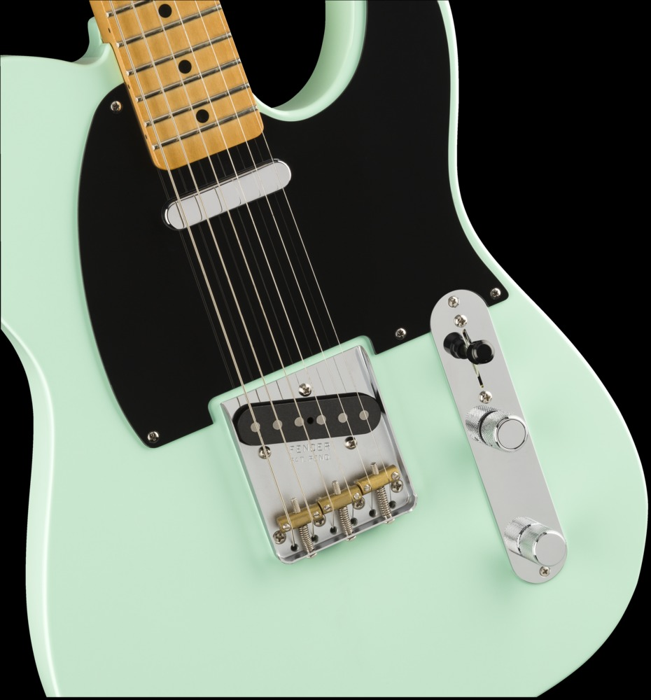 guitars fender vintera 39 50s telecaster modified surf green maple. Black Bedroom Furniture Sets. Home Design Ideas