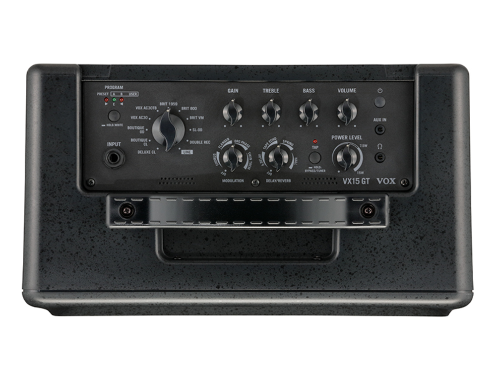 amplifiers vox vx15 gt 15w modeling guitar combo amplifier. Black Bedroom Furniture Sets. Home Design Ideas
