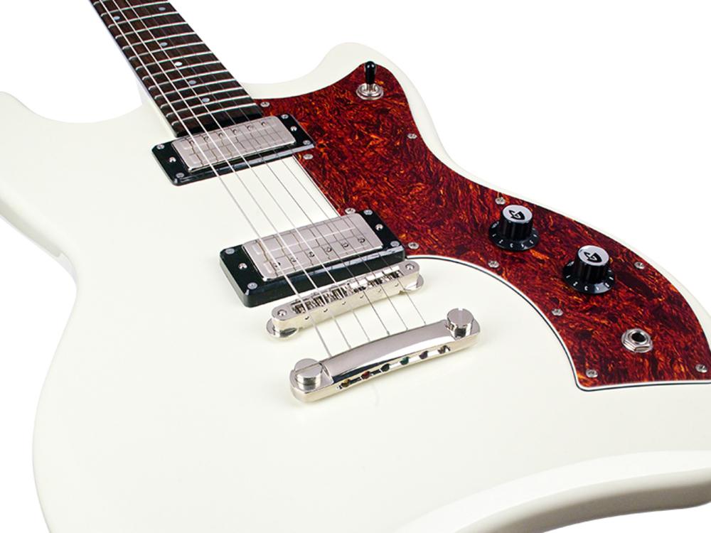 guitars electric guitars guild newark st jetstar electric guitar vintage white. Black Bedroom Furniture Sets. Home Design Ideas