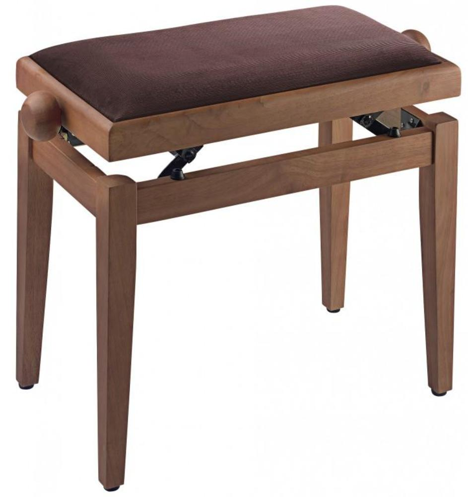 Stagg Pb40 Adjustable Piano Stool Wild Cherry Matt With