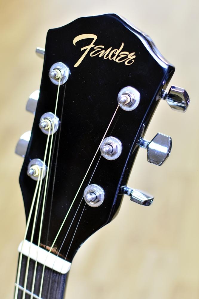 guitars acoustic guitars fender fa 125ce dreadnought electro acoustic guitar black. Black Bedroom Furniture Sets. Home Design Ideas