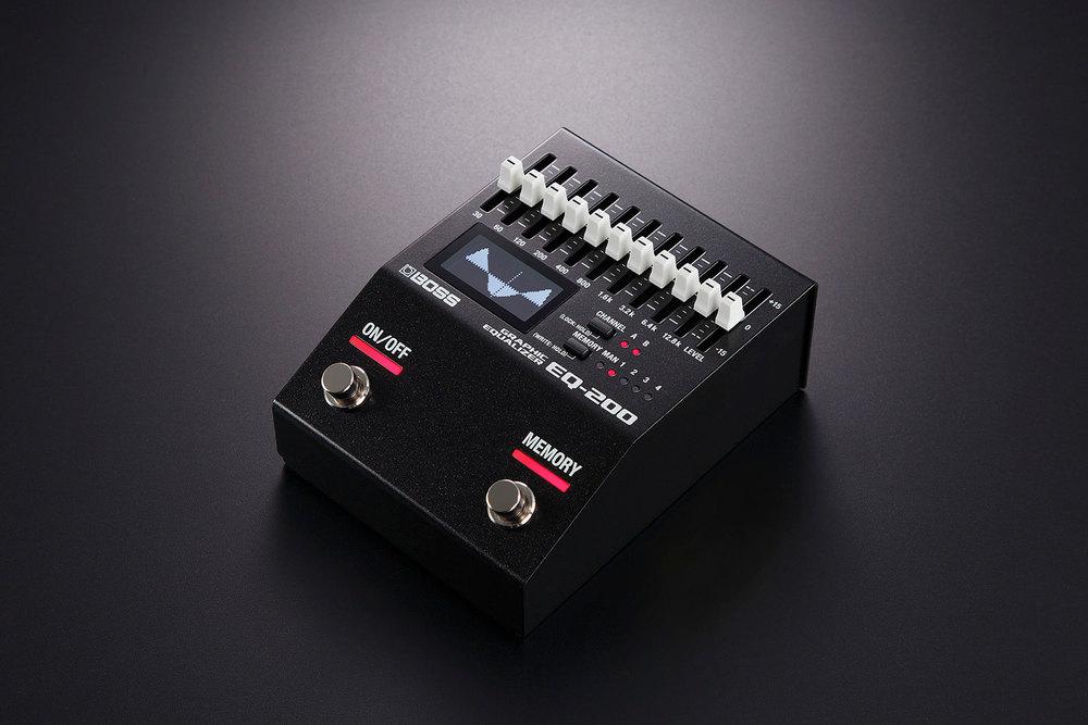 boss eq 200 graphic equalizer electric guitar pedal. Black Bedroom Furniture Sets. Home Design Ideas