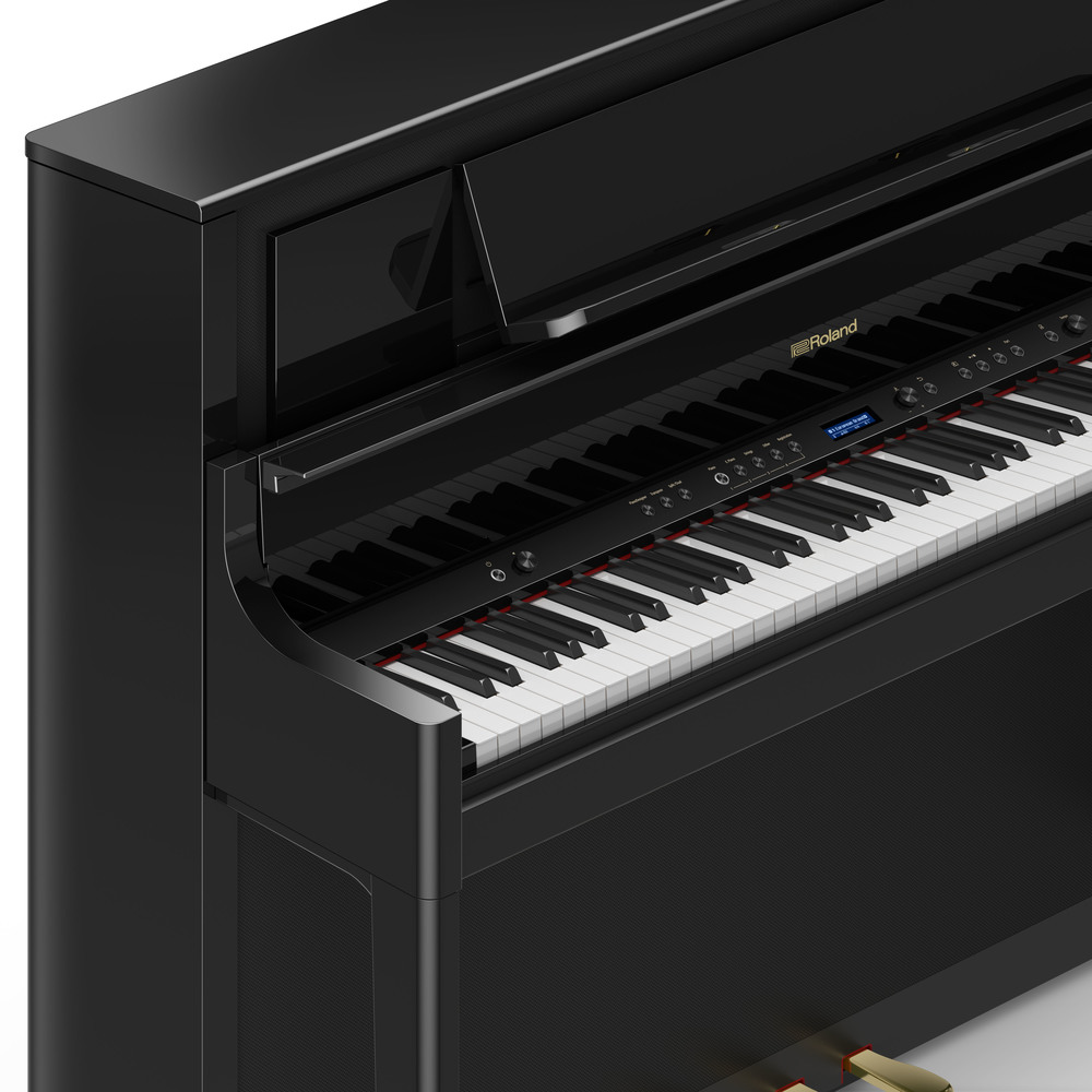 pianos keyboards pianos digital pianos roland digital pianos roland lx708 digital. Black Bedroom Furniture Sets. Home Design Ideas