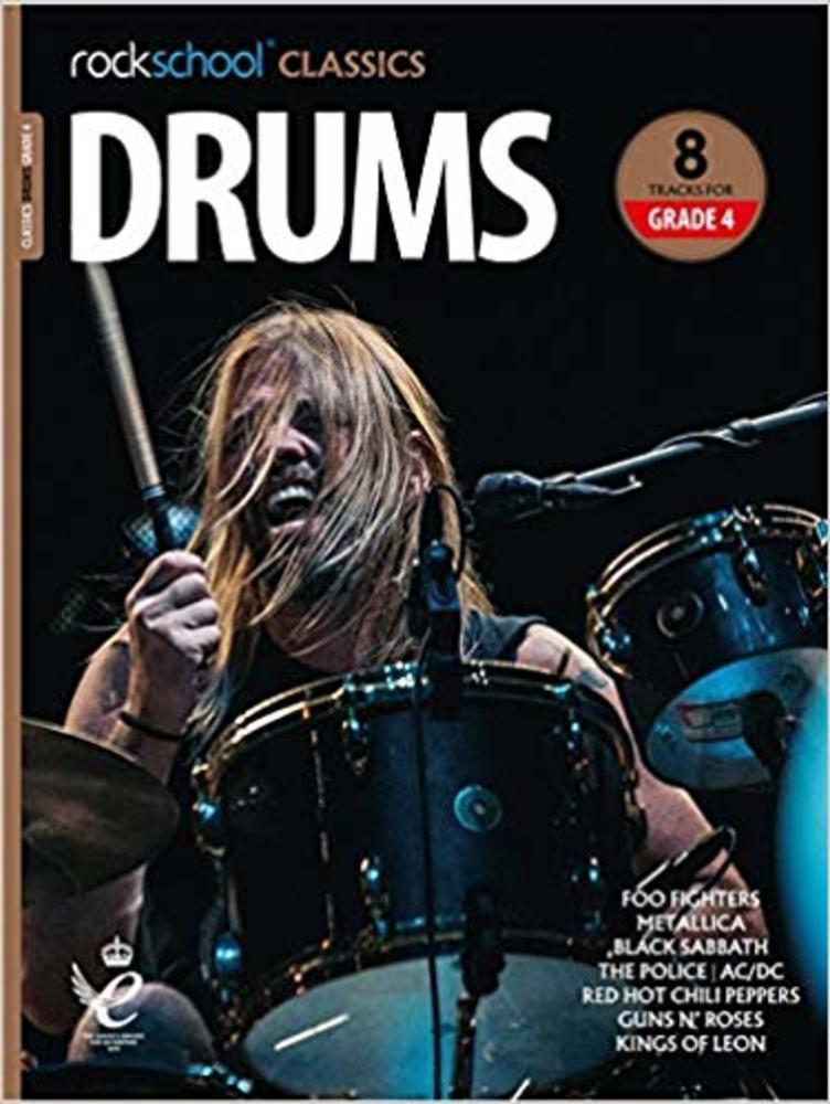 Rockschool Classics Drums: Tracks for Grade 4