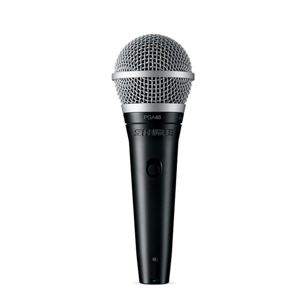microphones dynamic microphones shure pga48 cardioid dynamic vocal microphone. Black Bedroom Furniture Sets. Home Design Ideas