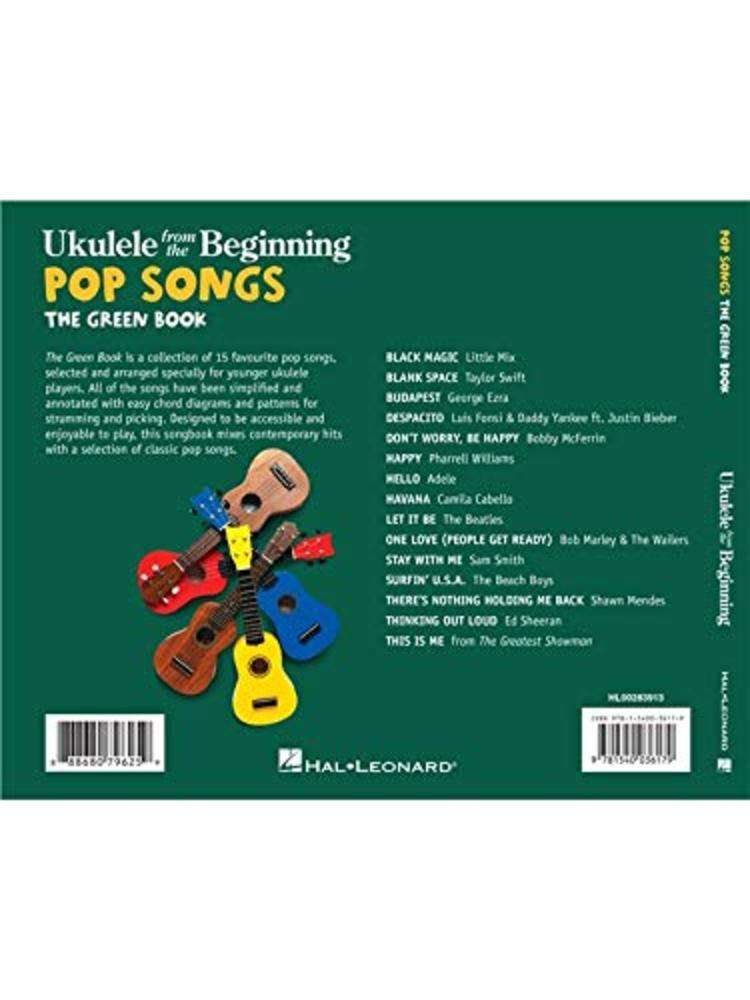 Ukulele from the Beginning: Pop Songs (Green Book)