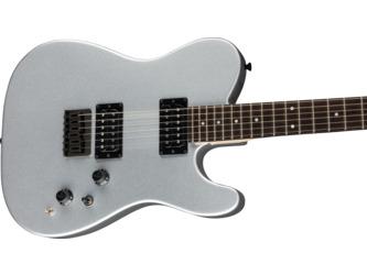 Fender Boxer Series Telecaster HH Inca Silver Electric Guitar & Case
