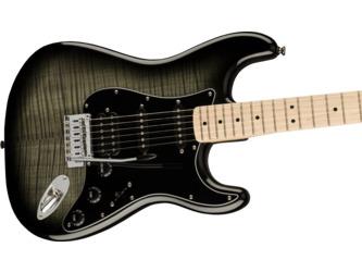 Fender Squier Affinity Series Stratocaster FMT HSS Black Burst Electric Guitar