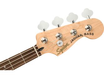 Fender Squier Affinity Series Jaguar Bass H Charcoal Frost Metallic Electric Bass Guitar