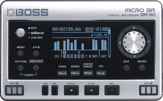 Boss BR-80 Micro BR Handheld Digital Recorder