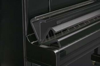 Kawai K200 Upright Piano Polished Ebony With Millenium III Action