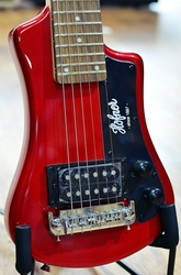 Hofner Shorty Red Travel Electric Guitar
