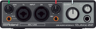 Roland Rubix22 2-In/2-Out USB Audio Inferface
