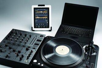Hercules DG305B Tablet Holder for Music Stand