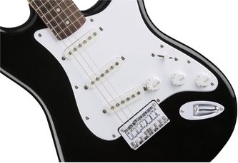 Fender Squier Bullet Stratocaster HT Black Electric Guitar