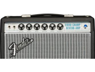 Fender Vintage Modified '68 Custom Vibro Champ Reverb 1x10 Electric Guitar Amplifier Combo