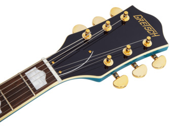 Gretsch G2410TG Streamliner Hollow Body Single-Cut w/ Bigsby and Gold Hardware, Ocean Turquoise