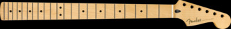Fender Sub-Sonic Baritone Stratocaster Neck, 22 Medium Jumbo Frets, Maple