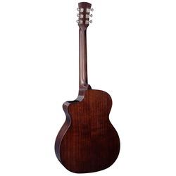 Faith PJE Legacy FG5HCE Earth OM Dark Roast All Solid Electro Acoustic Guitar & Case