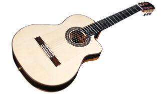 Cordoba Espana 55FCE Negra Ziricote Electro Nylon Guitar & Case
