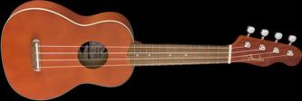 Fender Venice Soprano Ukulele, Natural