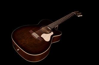 Art & Lutherie Legacy CW 12 Concert Hall Bourbon Burst 12-String Electro Acoustic Guitar