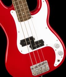 Fender Squier Mini Precision Bass Dakota Red Short-Scale Electric Bass Guitar