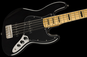 Fender Squier Classic Vibe '70s Jazz Bass V Black 5-String Electric Bass Guitar