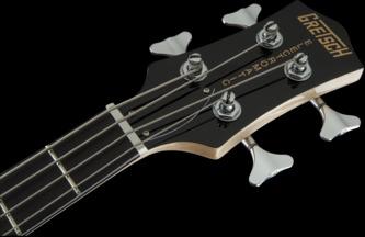 Gretsch Electromatic G2220 Junior Jet II Walnut Stain Short-Scale Electric Bass Guitar