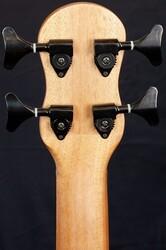 Barnes & Mullins BMUKB1 Bass Electro Ukulele, Mahogany
