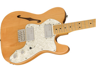 Fender Squier Classic Vibe '70s Telecaster Thinline Natural Electric Guitar