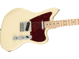 Fender Squier Paranormal Offset Telecaster Olympic White Electric Guitar