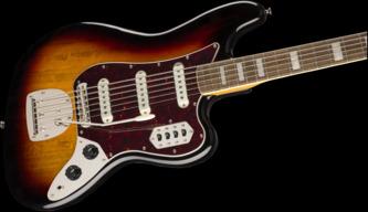 Fender Squier Classic Vibe Bass VI, 3-Colour Sunburst, Laurel