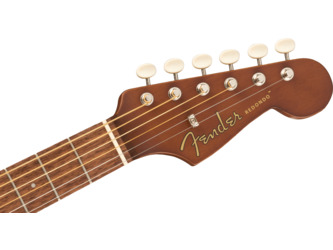 Fender California Redondo Mini Sunburst Short-Scale Acoustic Guitar & Case