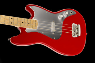 Fender Squier Affinity Series Bronco Torino Red Short-Scale Electric Bass Guitar