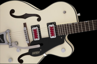 Gretsch G5410T Electromatic Rat Rod Hollow Body Single-Cut w/Bigsby, Matte White