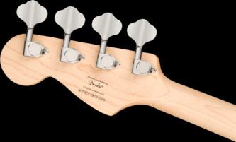 Fender Squier Mini Precision Bass Black Short-Scale Electric Bass Guitar
