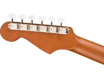 Fender California Redondo Mini Natural Short-Scale Acoustic Guitar & Case