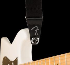 Fender Infinity 'F' Strap Locks, Chrome